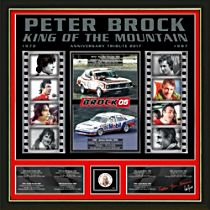 """Peter Brock """"King of the Mountain"""" Gallery Edition Print"""