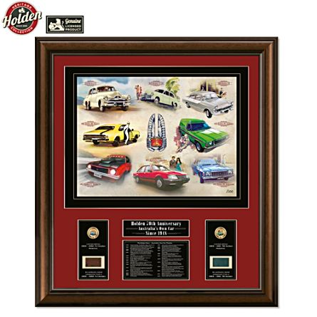 Holden 70th Anniversary Gallery Edition Print