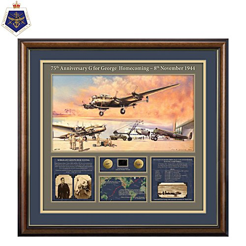 G for George 75th Anniversary Homecoming Gallery Editions Print