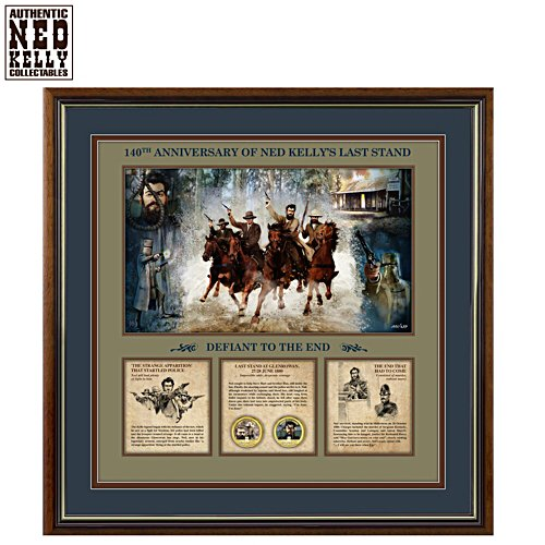 Ned Kelly's Last Stand Gallery Editions Print