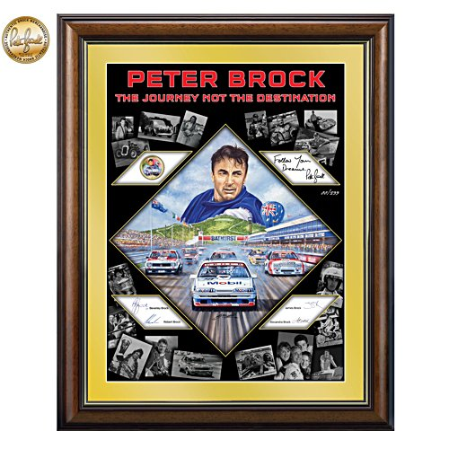 Peter Brock 'The Journey Not The Destination' Gallery Editions Print