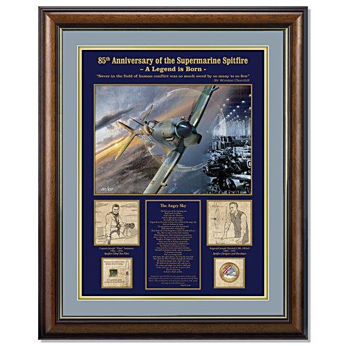 Spitfire 85th Anniversary Test Flight Gallery Editions Print