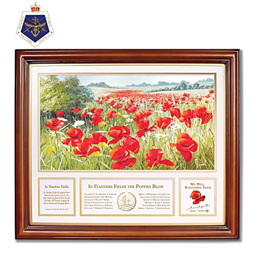 Mary Dipanall's 'In Flanders Field' Poppy Print