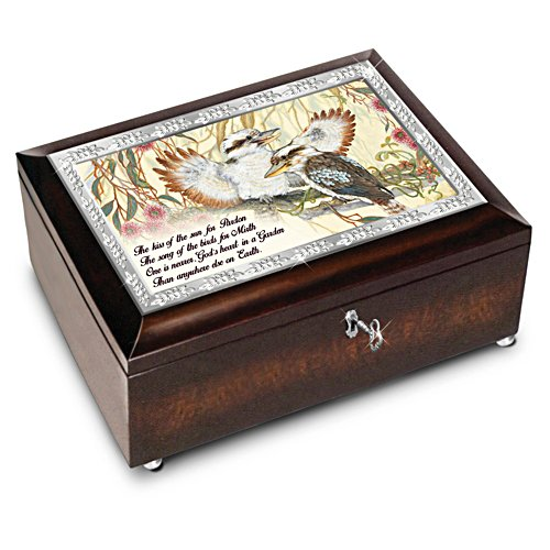 King of the Bush Garden Music Box