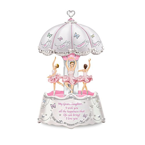 Granddaughter, Ballerina Illuminated Musical Carousel