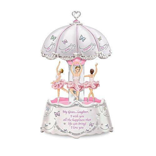 Granddaughter, Ballerina Illuminated Musical Carousel