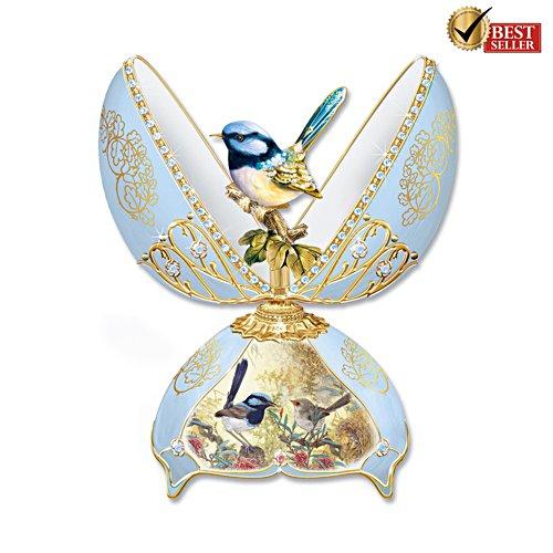 Fairy Wren Fabergé-Inspired Musical Egg