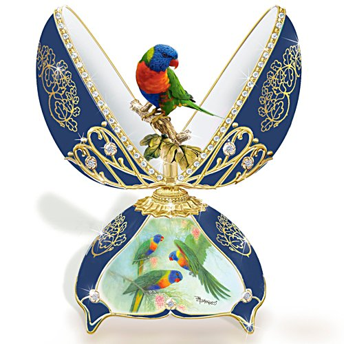 Rainbow Lorikeet Music Box