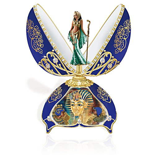 Treasures of Egypt Cleopatra Music Box