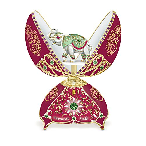 'Fortune's Smile' Music Box