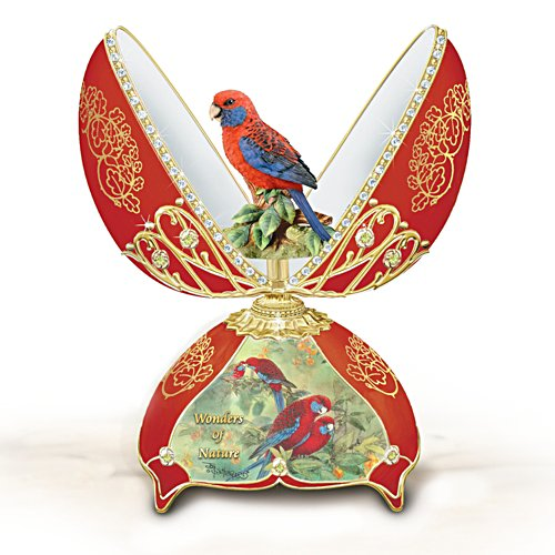 Crimson Rosella Music Box