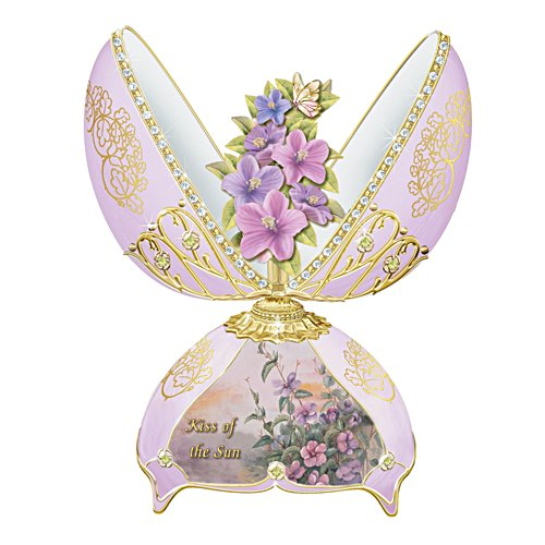 'Kiss Of The Sun' Fabergé-Inspired Music Box