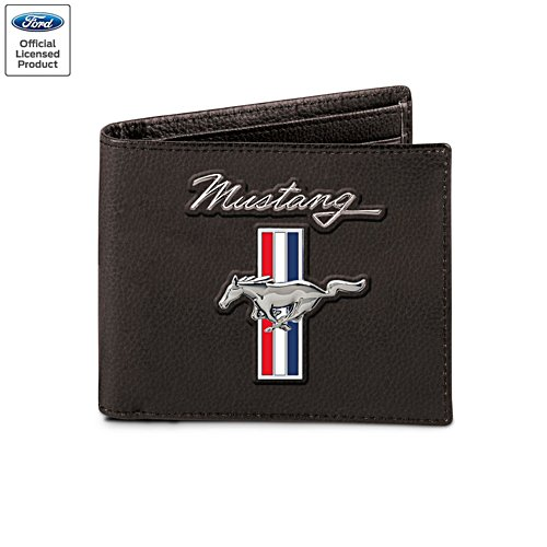 'Mustang: Untamed American Spirit' Men's Wallet