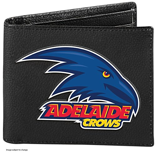 AFL Adelaide Crows RFID Blocking Leather Wallet