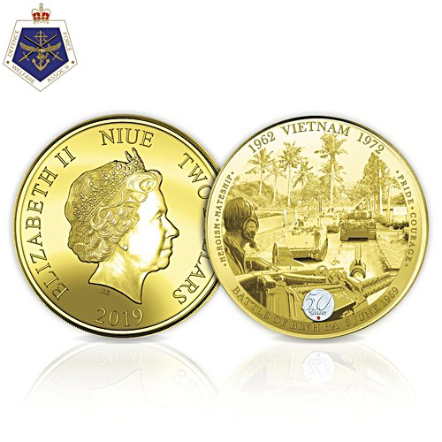Battle of Binh Ba Golden Proof Coin