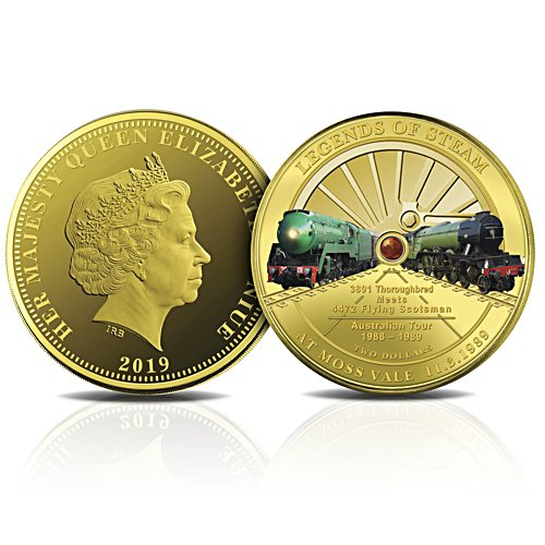 The Legends of Steam Golden Proof Coin