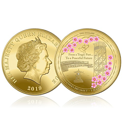 The Cowra Breakout Golden Proof Coin