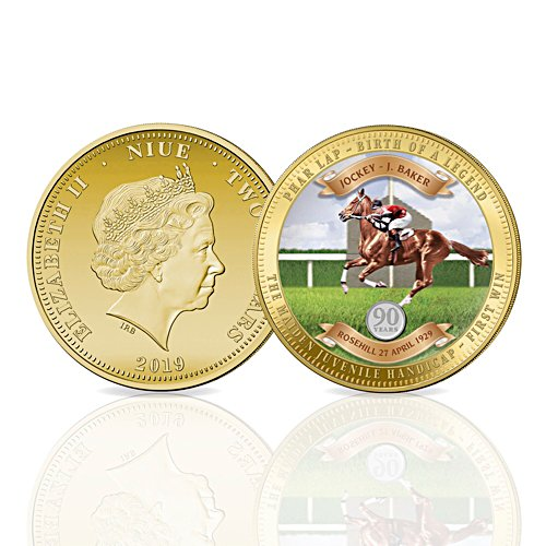Phar Lap Birth of a Legend 90th Anniversary Golden Proof Coin