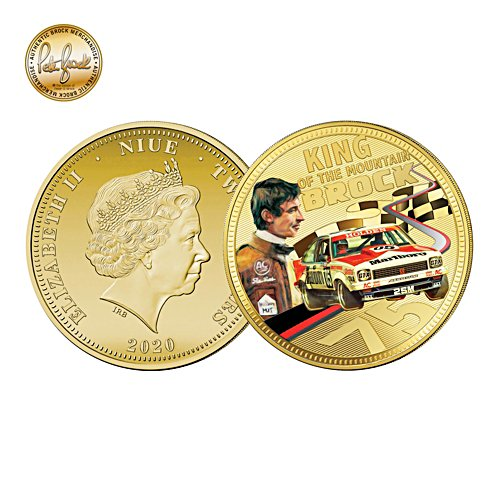 Peter Brock 75th Anniversary Golden Proof Coin