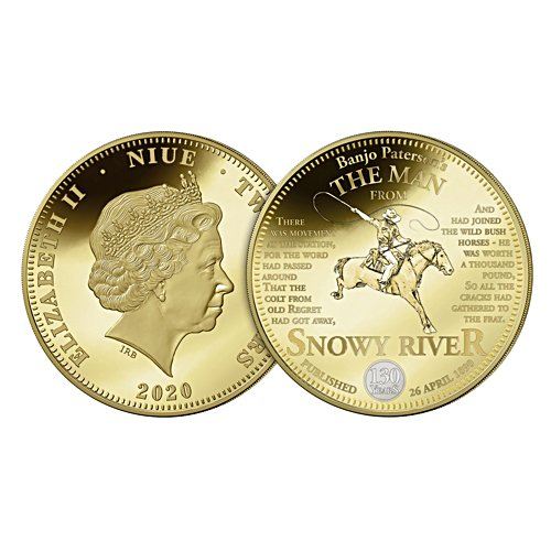 The Man from Snowy River Golden Proof Coin