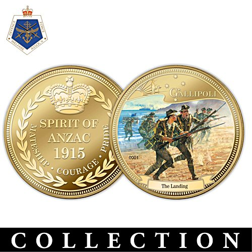 Spirit of the Anzac Gold Coin Collection