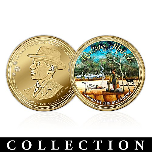 Waltzing Matilda Golden Proof Coin Collection