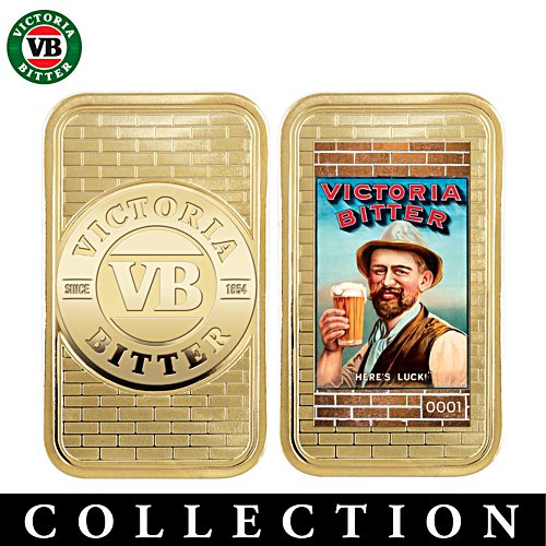 Victoria Bitter Golden Proof Ingot Collection