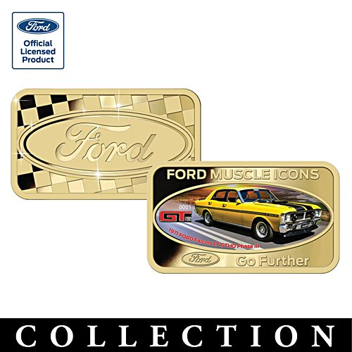 Ford Muscle Icons Ingot Collection