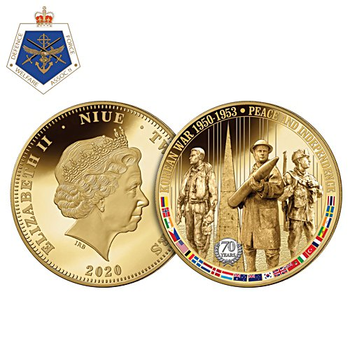 70th Anniversary War In Korea Two Dollar Coin