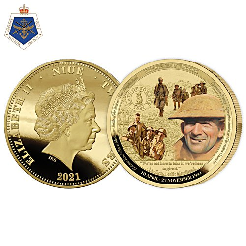 The Siege of Tobruk 80th Anniversary Golden Proof Coin