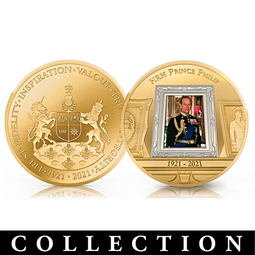 The Prince Philip, Duke of Edinburgh Memorial Commemorative Coin Collection