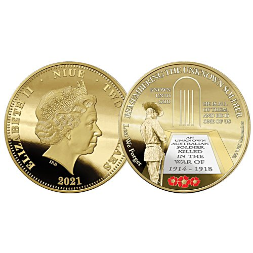Remembering the Unknown Soldier Golden Proof Coin