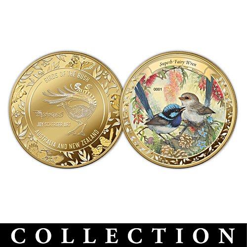 Joy Scherger's Australian and New Zealand Birds Golden Proof Collection