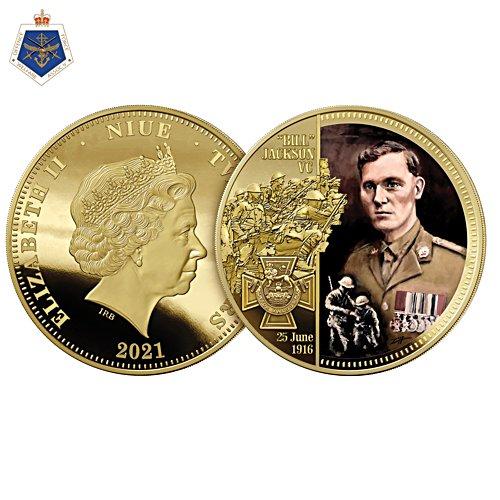 Bill Jackson Victoria Cross Golden Proof Coin