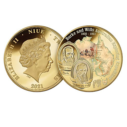 Burke and Wills Golden Proof Coin