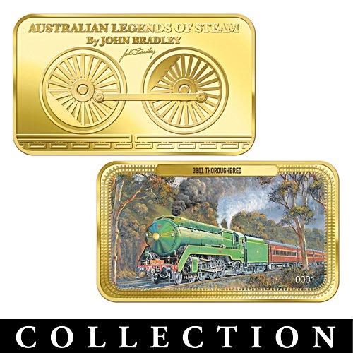 Australian Legends of Steam Ingot Collection