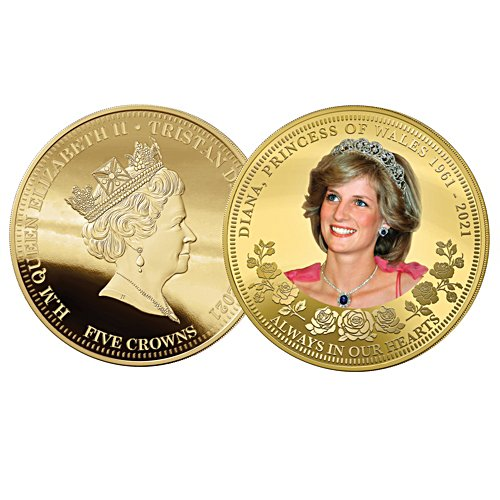 Diana, Princess of Wales 60th Birthday Golden Proof Coin