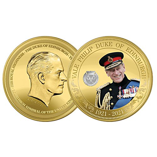HRH Prince Philip Commemorative Five Crown  Coin