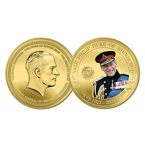 HRH Prince Philip Commemorative One Crown Coin