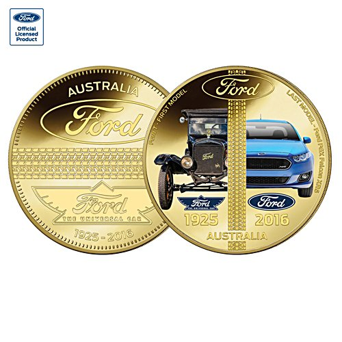 Ford First and Last Australian Made Golden Proof Commemorative