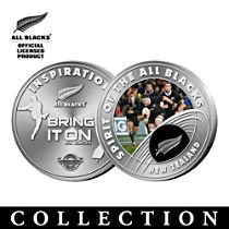 All Blacks Medallions with Official Club Emblem