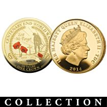WWI Centenary Crown Coin Collection