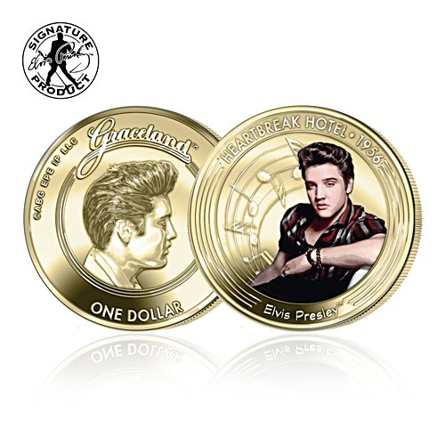 Elvis The Heartbreak Hotel Coin