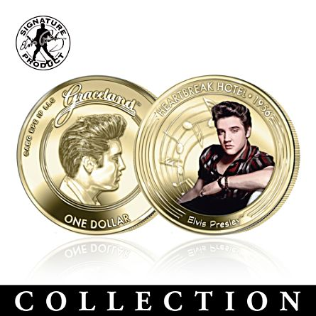 Official Elvis Graceland™ 60th Anniversary Coin Collection