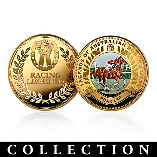 Legends of Australian Racing Coin Collection