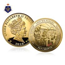 The 'Lest We Forget' 24K Ten Crowns Gold Coin