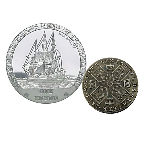 1787 HMS Bounty One Crown Silver Set