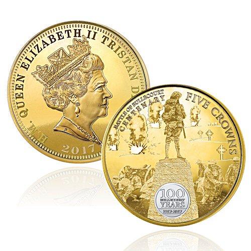Battle of The Bullecourt Five Crown Coin