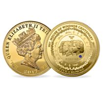 Centenary of the House of Windsor Five Crown Coin