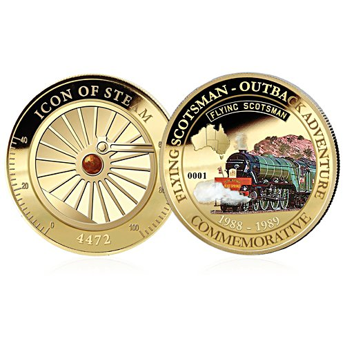Outback Adventure Flying Scotsman Official Golden Commemorative